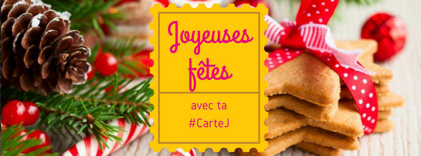 Passez un joyeux Noël avec votre CarteJ !