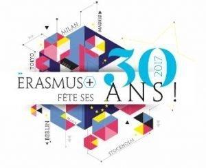 [Evénement partenaire]Lancement national des célébrations des 30 ans d'Erasmus+ – Paris