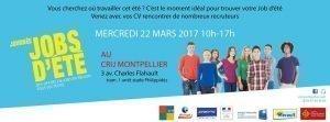 Journée jobs d'été, par le CRIJ Languedoc Roussillon – Montpellier