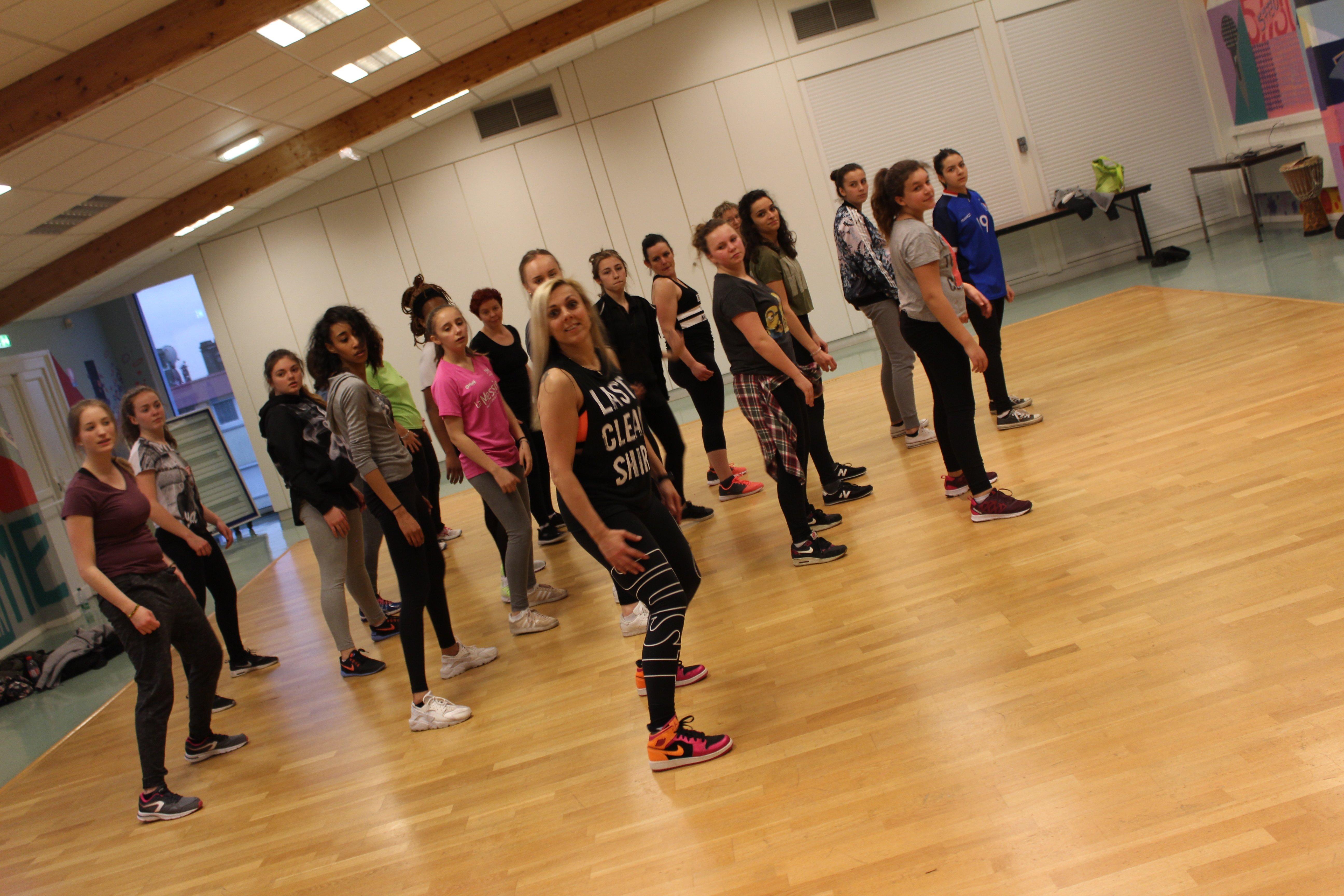Groupe de danseur