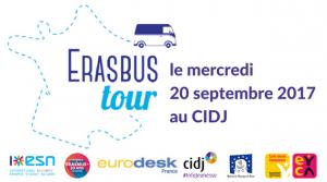 [Événement] Lancement officiel de la tournée de l'Erasbus