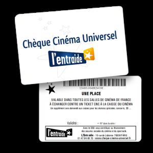 Chèque Cinéma Universel CCU